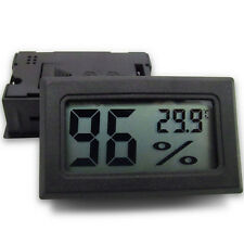 PC Mini Digital LCD Indoor Temperature Humidity Meter Thermometer Hygrometer PRO