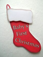 3D-U Pick - XM1 Babys First 1st Christmas Scrapbook Card Embellishment