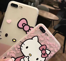 Hello Kitty Silicon Soft Cover Case For iPhone 6/6S Plus 7 plus Christmas Gift