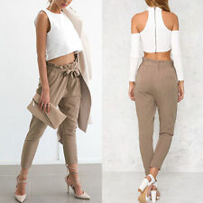 Hot. Sexy Women Skinny Long Pants High Waist Stretch Jeans Slim Pencil Trousers