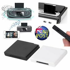 Bluetooth A2DP Music Receiver Adapter for iPod iPhone 30-Pin Dock Speaker P5