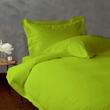 1000TC Egyptian Cotton Parrot Green Bedding Items As per your Selection All Size