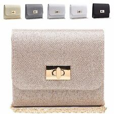 Ladies Designer Envelope Clasp Clutch Style Evening Party Handbag Purse M0096-3