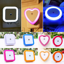 Auto LED Light Induction Sensor Control Bedside Night Light Room In Wall Lamp