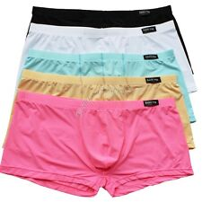 Sexy Men's Bulge Comfy Enhance Bulge Pouch Boxer Briefs Shorts Trunks Underwear