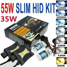 33W/55W HID Xenon Headlight Conversion KIT H1/3/4/7/8/9/10/11/13/27 9005/6/7#JS~