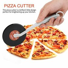 Top Spin Slice Record Player Pizza Cutter Vinyl Record Design Pizza Cutter GA