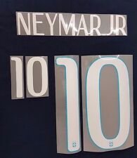 """NEYMAR JR 10"" Brazil World Cup Football Away Adult Name & Number Set 2014/15"