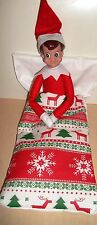 Handmade by me, suitable for Elf on the shelf, bed with lots of fabric choices