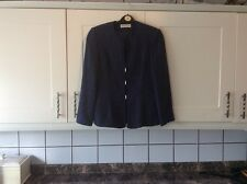 Ladies size 10 dark blue wool mix jacket by Jaques Vert
