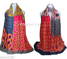 Extra-Ordinary ladies' Geometric Flower Pattern Summer Scarf/ Sarong/ Cover-up