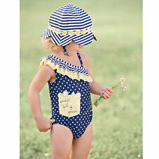 Mud Pie Daisy Swimsuit Baby Toddler 3M-5T #1122128 NWT