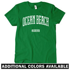 Ocean Beach San Diego Women's T-shirt S-2X - Gift SD California Surfing OB 619