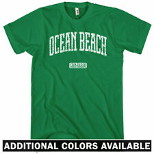 Ocean Beach San Diego T-shirt - Men S-4X - Gift SD California Surfing Surfer 619
