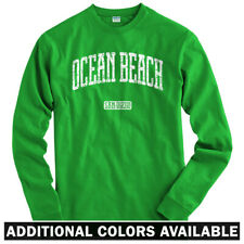 Ocean Beach San Diego Long Sleeve T-shirt - LS Men S-4X - Gift SD California OB