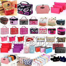 New Travel Cosmetic Bag Makeup Case Multifunction Toiletry Wash Organizer Pouch