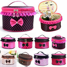 Cute Multifunction Travel Cosmetic Bag Makeup Case Pouch Toiletry Wash Organizer
