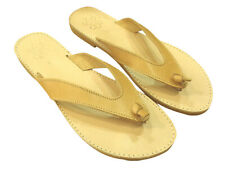 Ancient Greek Womens Roman Genuine Leather Handmade Sandals Shoes Flip Flops