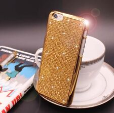 Bling Swarovski Element Crystal Diamond Gold Soft case For iphone 5 5s {oo118