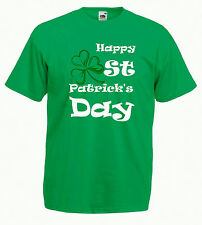 Saint Patrick's Day Tee Shirt - Happy St. Patricks Day Green T Shirt