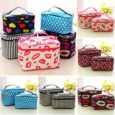 Toiletry Cosmetic Make Up Case Bag Travel Wash Holder Pouch Organizer Accessory