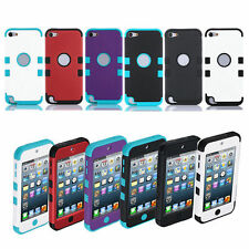 Hard Defender Hybrid Slim Armor Case Cover For Apple iPod Touch 5 th / 6 th Gen