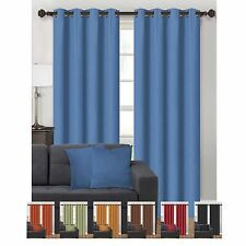 Parker Collection Decorative Curtain Panel Pair w/ Coordinating Throw Pillows