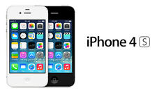 Apple iPhone 4S Smartphone Verizon StraighTalk PagePlus 8/16/32GB Black White