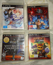 Various PlayStation 3 PS3 Games - Agarest Ratchet & Clank Walking Dead