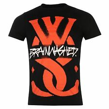 While She Sleeps Brainwashed T-Shirt Mens Black Music Top Tee T Shirt