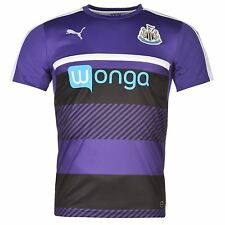 Puma Newcastle United FC Training Jersey Mens Violet Football Soccer Top Shirt