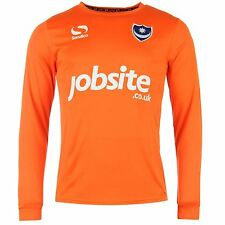 Sondico Portsmouth FC Home Goalkeeper Jersey 2015 2016 Mens Orange Shirt Top
