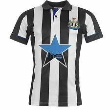Newcastle United FC 1994 Home Jersey Score Draw Mens Retro Football Soccer Shirt