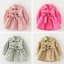 Newborn Baby Girl Kids Children Windbreaker Outerwear Coat Jacket Winter Clothes