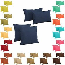 Outdoor Throw Pillow Sets Patio & Garden Decorative Cushions Yard Accent Pillows