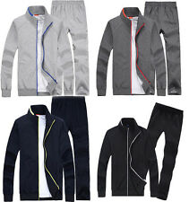 Mens Tracksuit Sweatsuit Jacket Pants Running Sports Jogging Suits Sweatpants