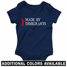 Made By Immigrants One Piece - Baby Infant Creeper Romper NB-24M - Gift America