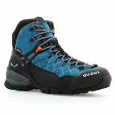 Salewa Alp Trainer Mid Gore-Tex Denim Womens Trainers