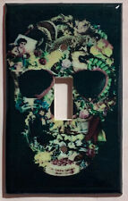The Art of the Skull Light Switch Outlet Cover Plate Home Decor