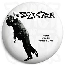 The Selecter - Too Much Pressure 25mm Ska Button Badge with Fridge Magnet Option