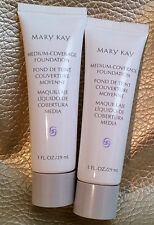 Lot of 1 MARY KAY Medium Coverage Foundation 1 FL. OZ./29 ml. Full &Choose Shade