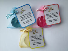15 baby shower candle favours - boy / girl / unisex / blue / pink / mixed favor