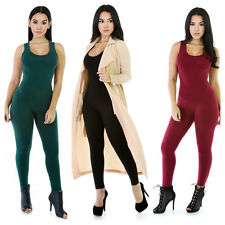 Sexy Women Girl Clubwear Playsuit Sleeveless Bodycon Party Jumpsuit&Romper Pants