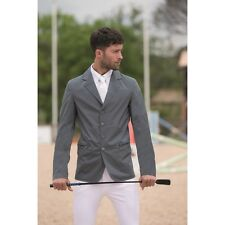 Horseware Mens Lightweight Woven Stretch COMPETITION SHOW JACKET Black/Grey ALL