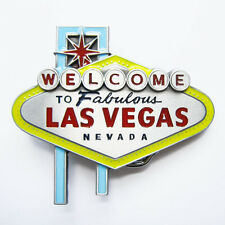 Men Belt Buckle Las Vegas Sign Belt Buckle Gurtelschnalle Boucle de ceinture