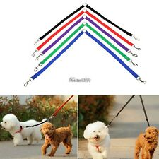New Nylon Strong Double Dog Lead Leash Couple Pet Collar Leash for Collar BF901