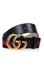 Gucci Belt % Nastro Web Leather MADE IN ITALY Woman Blues 409416H17WT-8632
