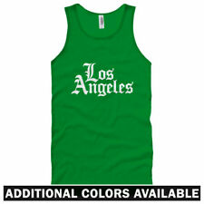 Los Angeles Gothic Unisex Tank Top - Men Women XS-2X - Gift Dodgers Lakers LAX