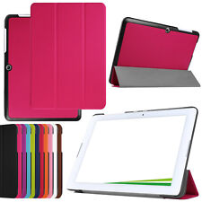 """Ultra* Slim Leather Case Stand Cover for 10.1"""" Acer Iconia One 10 B3-A20 Tablet"""