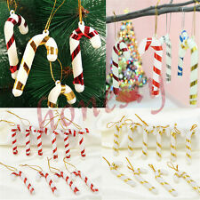 15X  Xmas Tree Candy Cane Hanging Ornament Decoration Christmas Home Party Decor